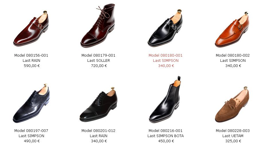 Carmina Shoemakers Collection of Handmade Men's  shoes