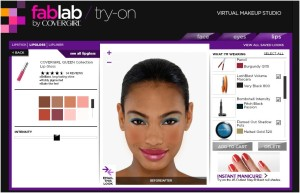 Cover Girl Fab Lab create your own makeup look