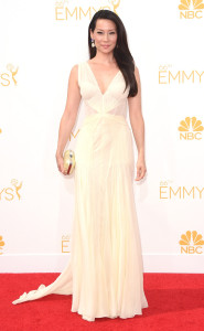 Lucy Liu Emmy Awards Fashion 2014