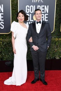 Mens Fashion at the 76th Annual Golden Globe Awards at The Beverly Hilton Hotel on January 06, 2019 in Beverly Hills, California