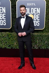 Ricky Martin attends the 76th Annual Golden Globe Awards