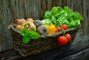 fresh vegetable cleaning during Coronavirus pandemic