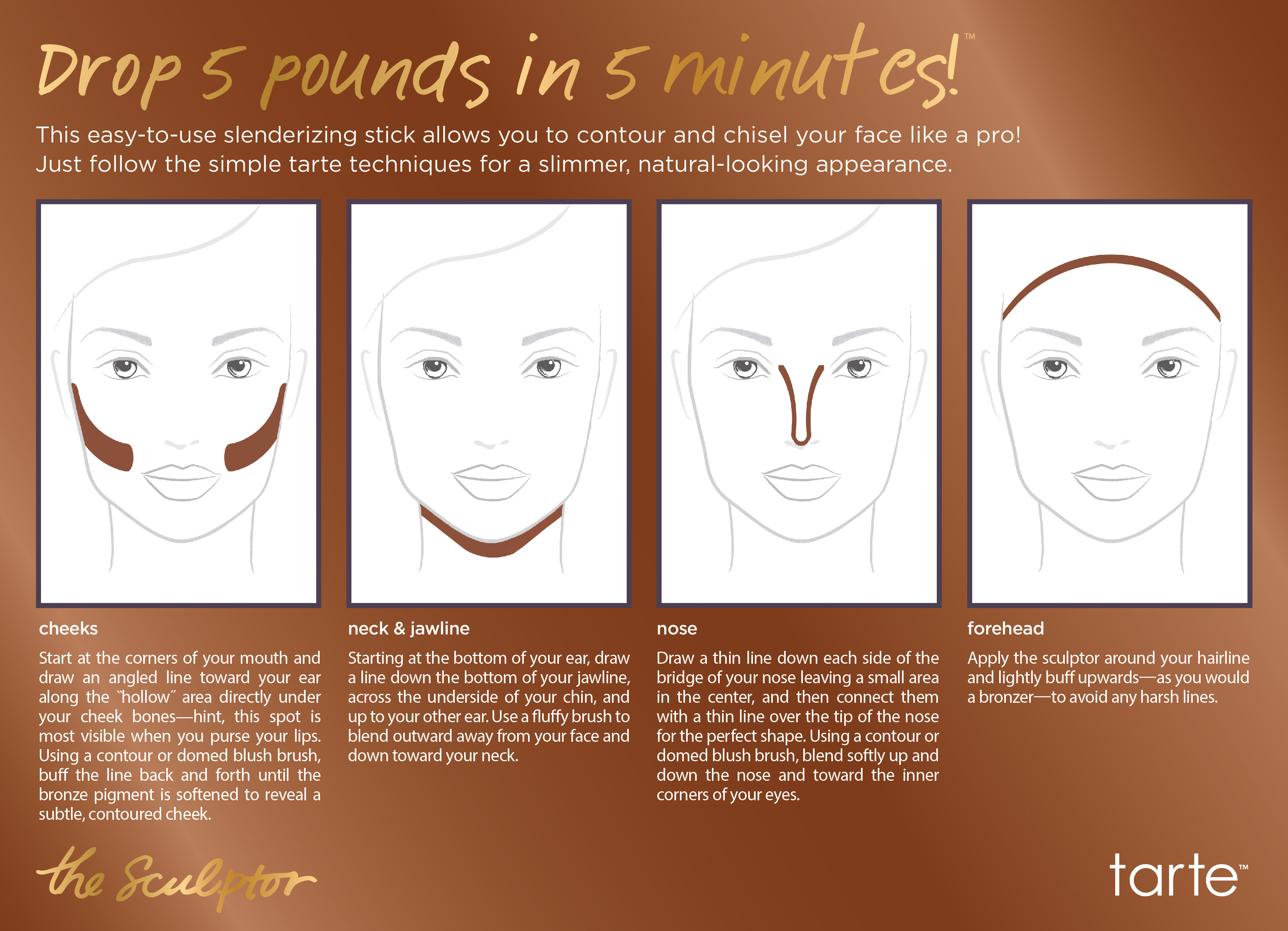 nyx contour kit how to use