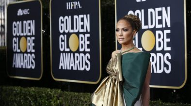 Jennfer Lopez Golden Globes